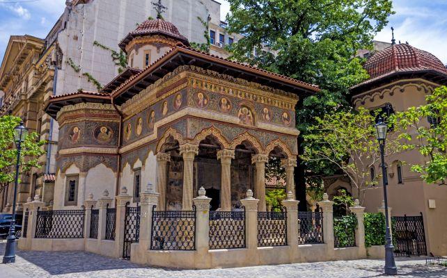 Visit Stavropoleos Church in Bucharest Historic Old Town!